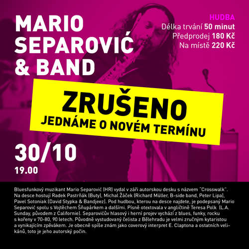 Program U6 - Mario Separović & band